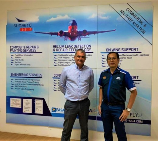 Sunaero Asia & National Aerospace Industry Coordinating Office